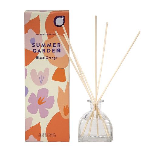 TAC Summer Garden Diffuser - Blood Orange (100ml)