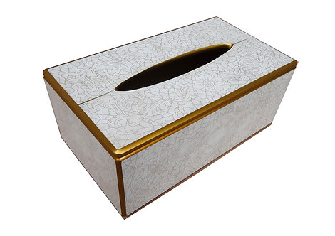 Berrocal Home Collection - Blanc Tissue Box