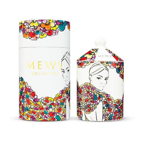 Mews Collective 320g Candle - Sweet Violet & Suede