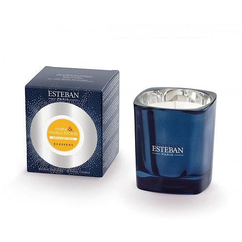 Esteban Paris Parfums Amber & Starry Vanilla Scented Candle (170G)