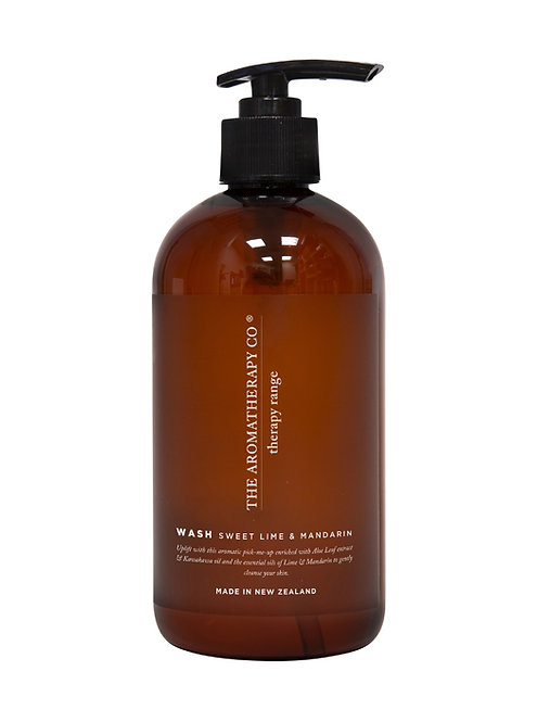 TAC Therapy® Hand & Body Wash - Sweet Lime & Mandarin (500ml)