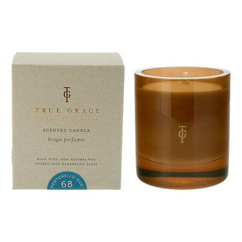 True Grace Burlington Medium Candle - Portobello Oud (290G)