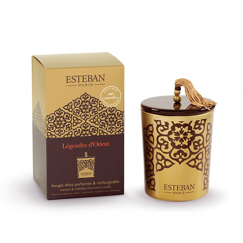 Esteban Paris Parfums Classic Legendes d'Orient Decorative Candle (170G)