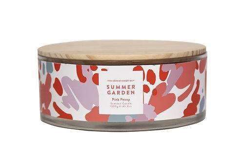 TAC Summer Garden Candle - Pink Peony (1300g)