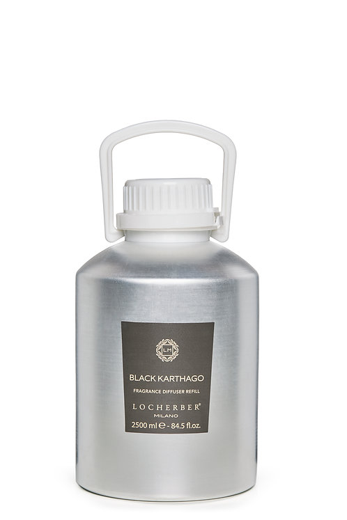 Locherber Skyline Collection -  Black Karthago Refill (2.5L)