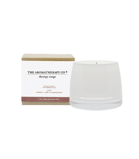 Therapy® Candle Uplift - Sweet Lime & Mandarin (260g)