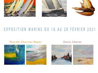 16/02 au 28/02 : Exposition Marine