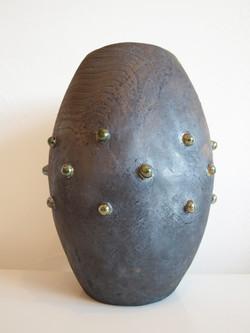 Vase perlé