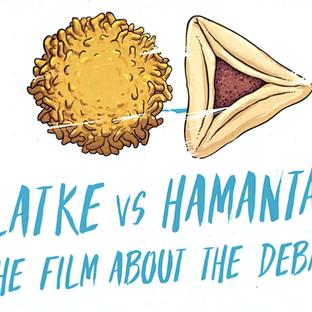 "KIRAN KOSHY DIRECTS DOCUMENTARY PROMO ABOUT DECADES OLD DEBATE ""LATKE VS HAMANTASH"""