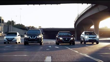 "Nissan ""Follow the Leader"""