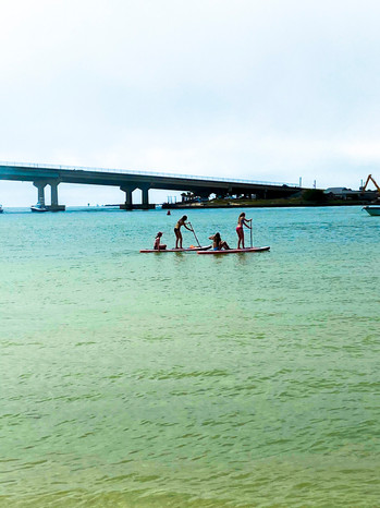 Paddle Board Bridge