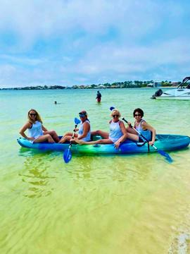 Beach Moms Kayak