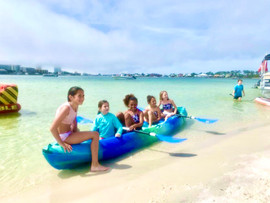 Kids on Kayak (Original)