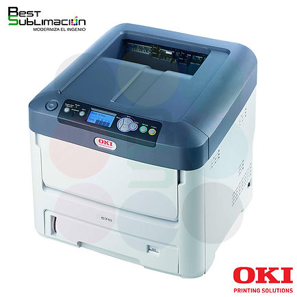 impresora laser Transfer oki 711-Best Sublimación
