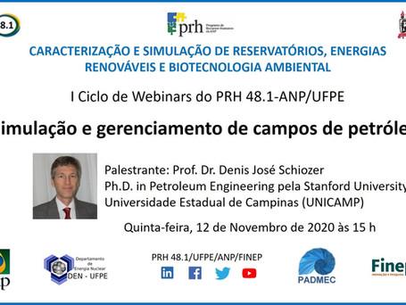 Simulação e gerenciamento de campos de petróleo