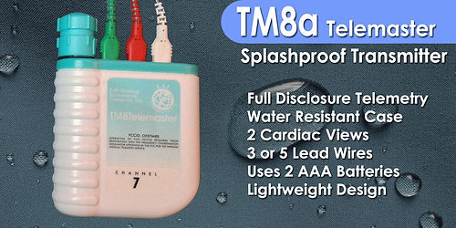TM8a Water Resistant Telemetry Transmitter