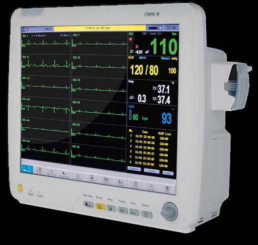 Omni III Bedside Cardiac Monitor