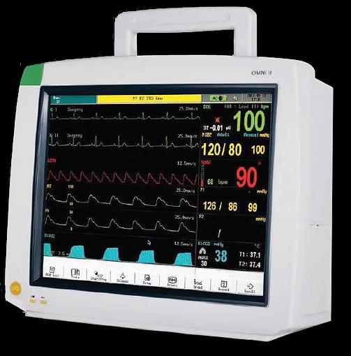 Omni II Bedside Cardiac Monitor
