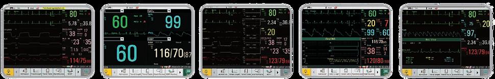 Multiple Bedside Display Modes