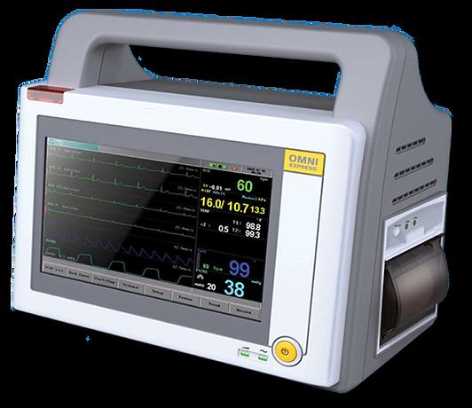 Omni Ez Cardiac Vital Signs Monitor
