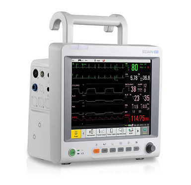 iM 70 Cardiac Patient Monitor with hook rail handle.