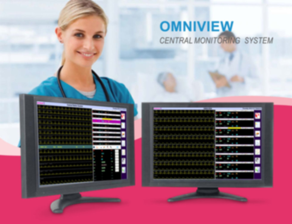 OmniView Wireless Bedside Central Station