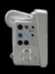 iM 70 Patient Monitor conectivity ports.