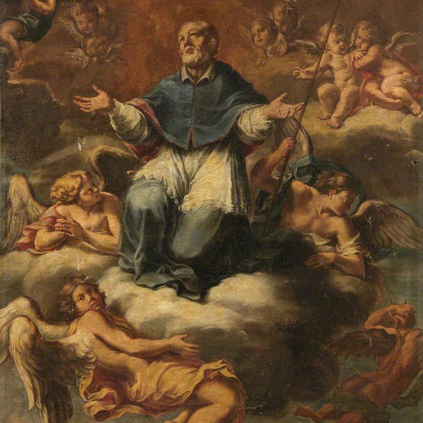 St. Francis de Sales in Glory