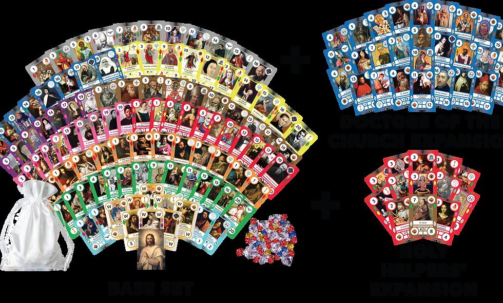 SaintCards: Mega Pack (147 SaintCards)