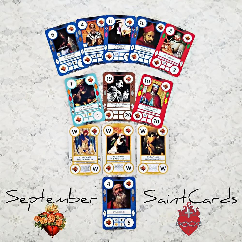 September SaintCards