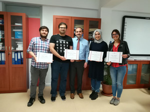 The Tradition: BSc Lab Members Got Honor Certificates
