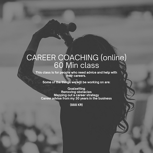 Vocal Coaching Career