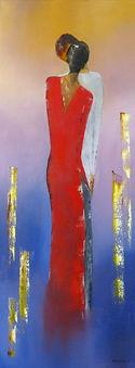 huile/peinture au couteau/galerie