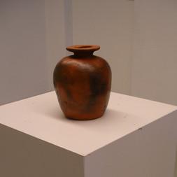 Vase enfumé 2 - Hauteur:20 cm - Diamètre:19 cm - Prix: 35 €