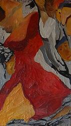 peinture à l'huile/galerie marouflage/