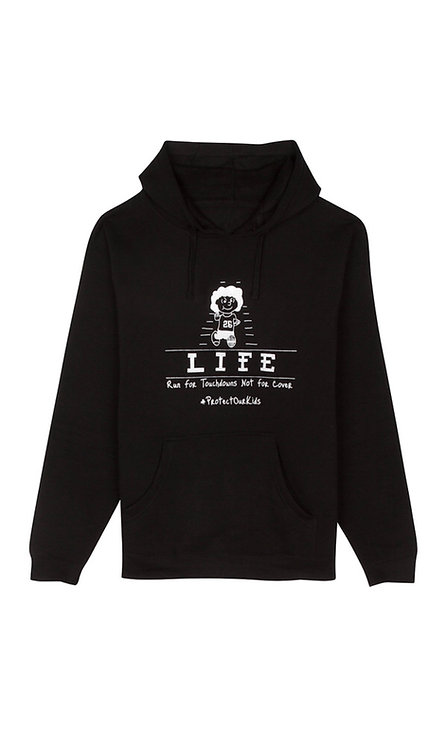 Run For Touchdowns Not For Cover Hoodie