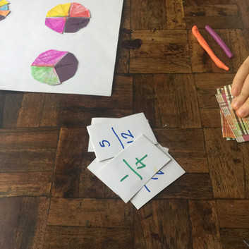 Wipe Out - Fractions Game