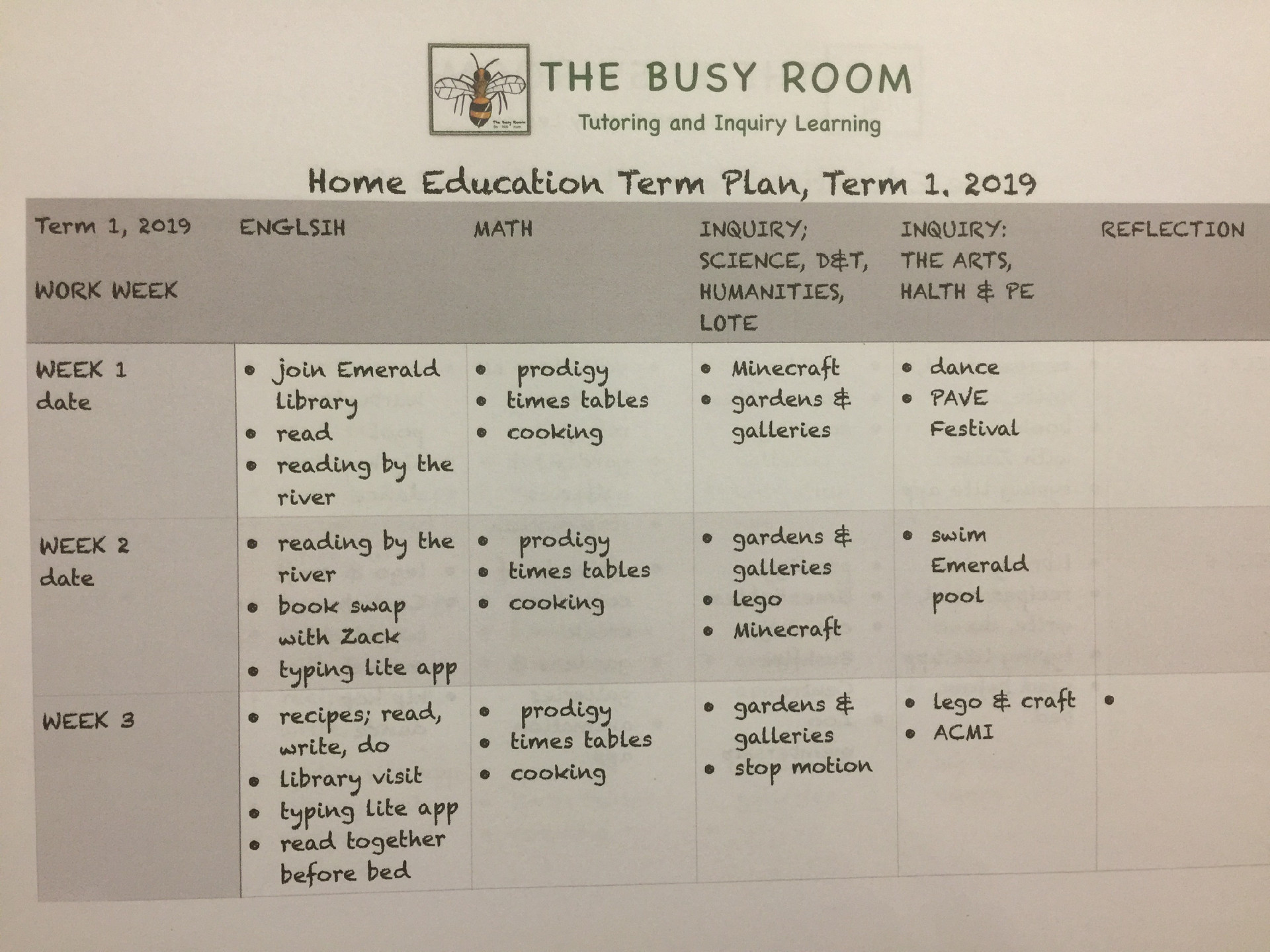Home Education Term Plan