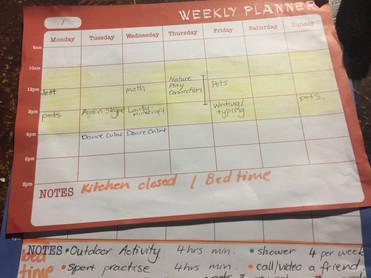 Self Directed Schedule