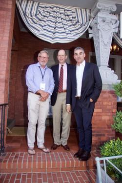Tom Edmonds, Bob Chaloner, Oscar Mandes