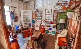 Interior of Thrift Shop