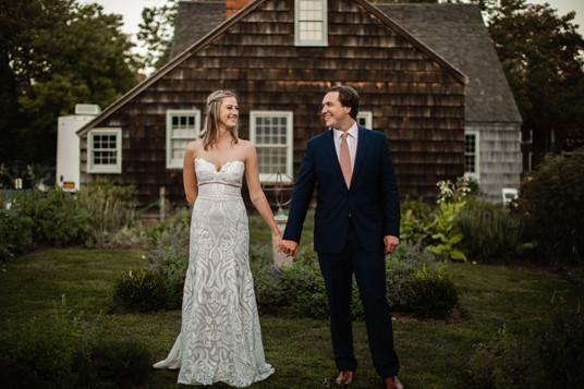 Couple in garden