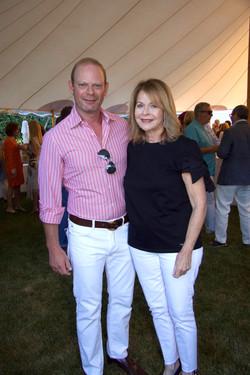 Ross Meltzer and Paulette Koch