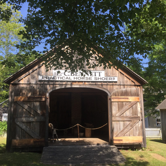 Blacksmiths Shop: Doors Open