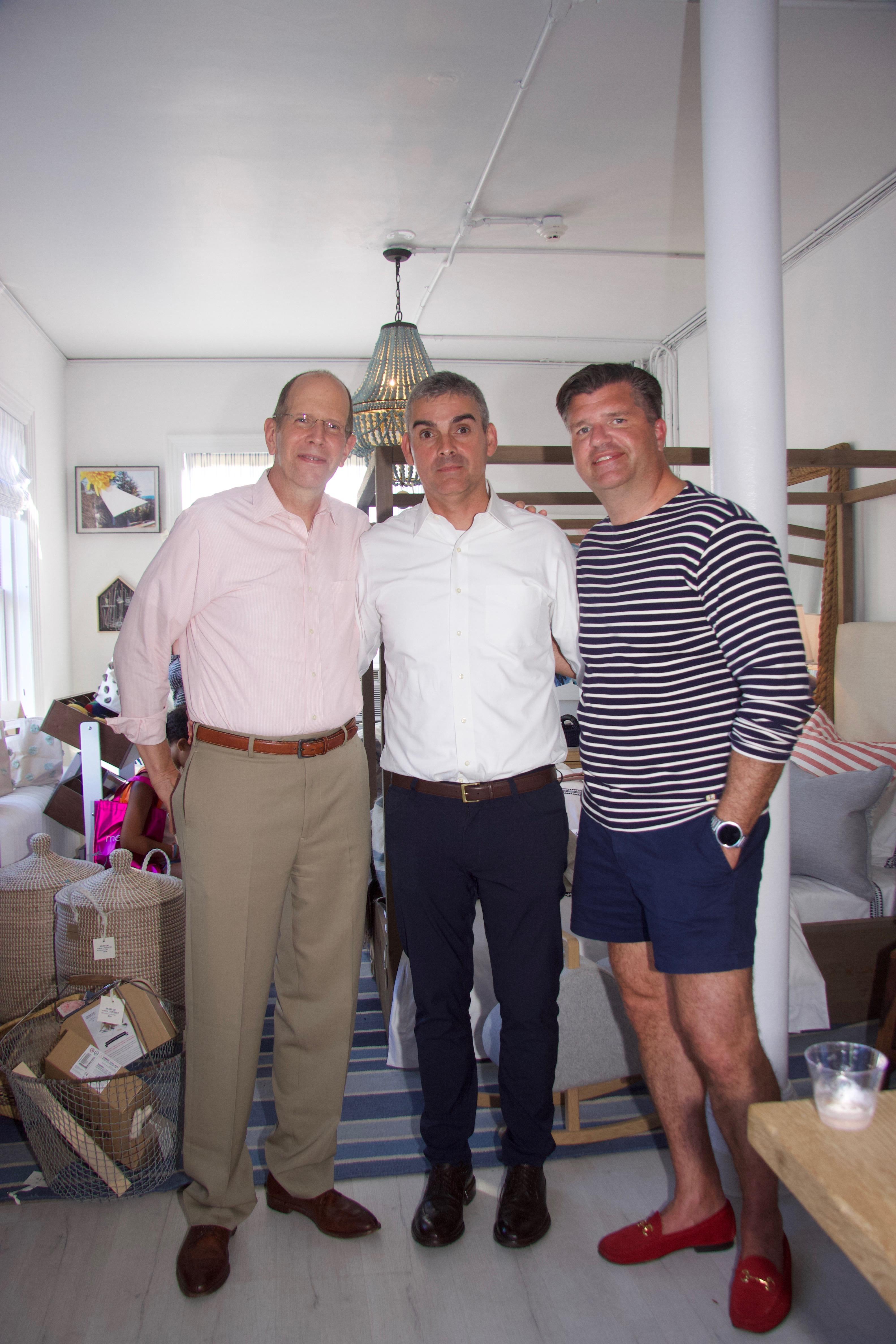Bob Chaloner, Oscar Mandes, Rich Wilkie
