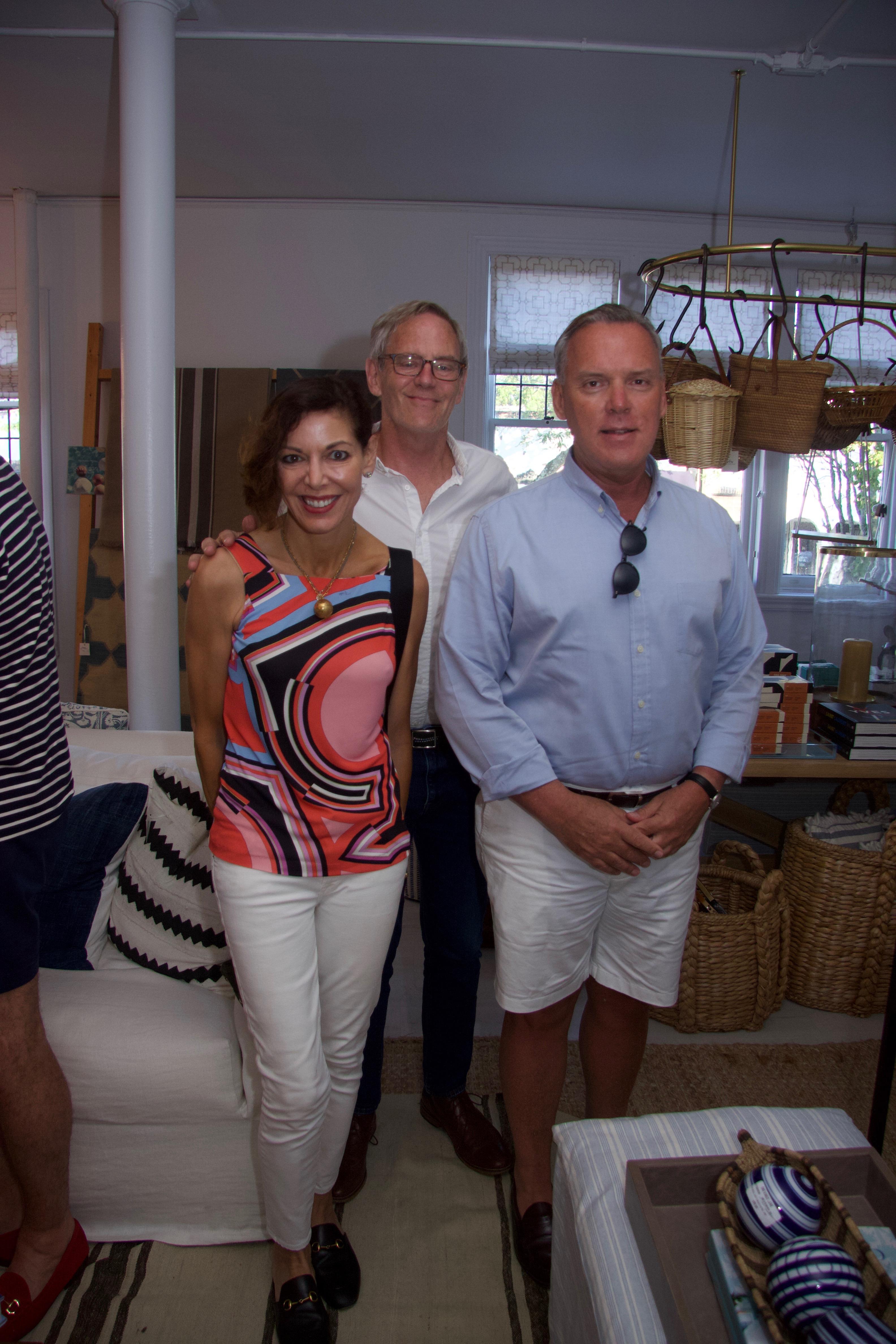 Julie Ovadia, Crosby Renwick, Bob Dowling