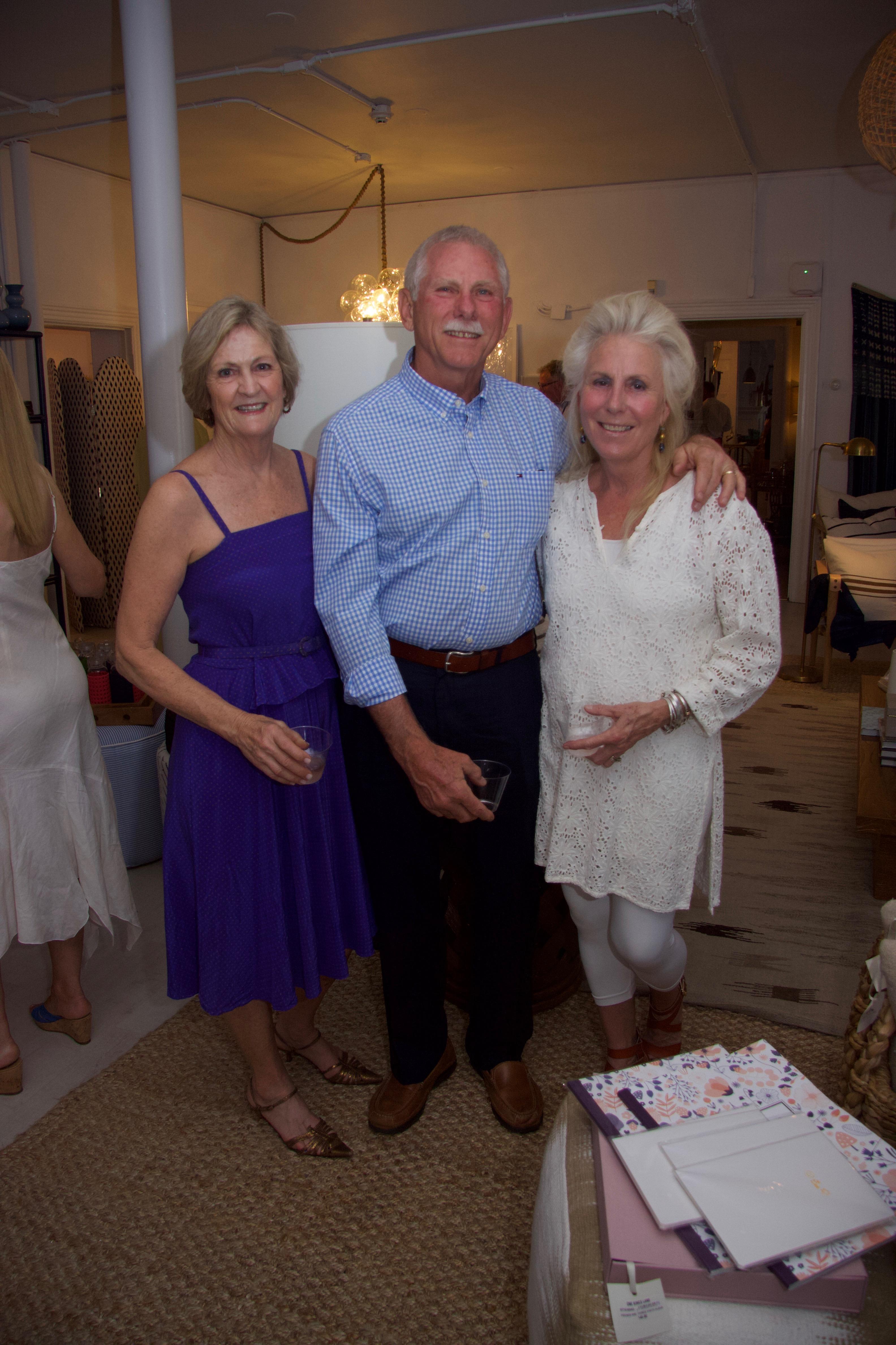 Linda Stabler-Talty, Noel and Deborah Hare