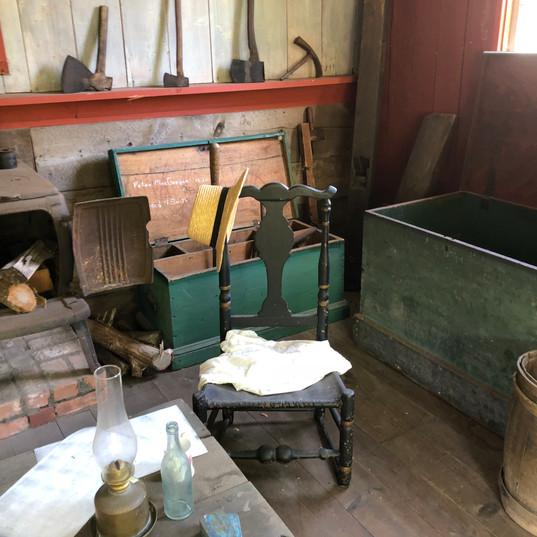 Carpenter's Shop: Interior