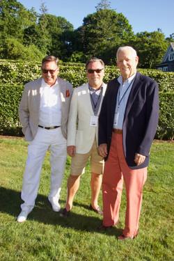 Mark Paviluk, Peter Hallock and Gerald Adams