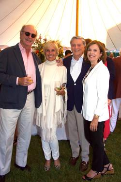 Bob and Liza Pulitzer Calhoun, Joe and Sheila O'Malley Fuchs